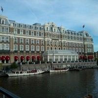Photo taken at Tramhalte Oosteinde by Misa S. on 9/6/2012