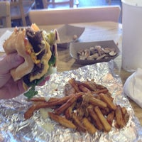 Photo taken at Five Guys by Nathan F. on 2/25/2012
