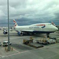 Photo taken at London Heathrow Airport (LHR) by Raina L. on 6/23/2013