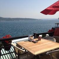 Photo taken at Göze Teras Cafe by Gökce Y. on 9/15/2012