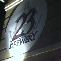 Photo taken at 23rd Street Brewery by Local Ruckus KC on 11/28/2012