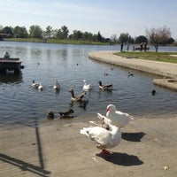 Photo taken at Lake Balboa Park by jess c. on 3/23/2013