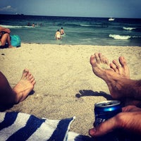 Photo taken at South Beach by Kyle B. on 4/20/2013