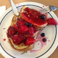 Photo taken at IHOP by Yunea C. on 4/27/2013