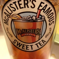 Photo taken at McAlister's Deli by Judy J. on 1/8/2013