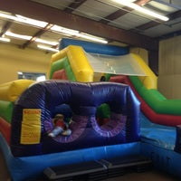 Photo taken at Leapin' Lizards Fun & Party Center by Laura B. on 3/3/2013