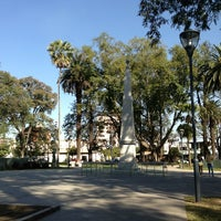 Photo taken at Plaza Belgrano by Nicolas C. on 6/2/2013