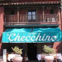 Photo taken at Checchino dal 1887 by Hugh M. on 10/16/2012