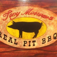 Photo taken at Tony Morrow's REAL PIT BBQ by Matthew S. on 3/16/2013