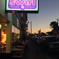 Photo taken at Swirl Frozen Yogurt by Brian P. on 7/19/2013