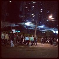 Photo taken at Avenida Santo Amaro by Leandro C. on 6/18/2013