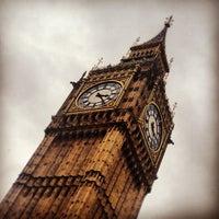 Photo taken at Big Ben (Elizabeth Tower) by James G. on 5/14/2013