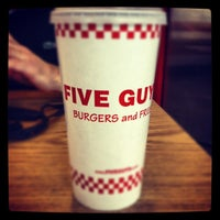 Photo taken at Five Guys by Jessie B. on 4/14/2012