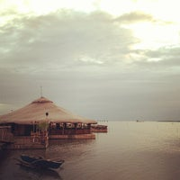 Photo taken at Lantaw Native Floating Restaurant by Carlo C. on 12/18/2012