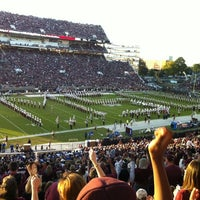 Photo taken at Davis Wade Stadium at Scott Field by Tricia L. on 10/21/2012