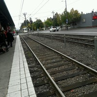 Photo taken at TriMet E 122nd Ave MAX Station by Chuff T. on 9/23/2016