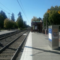 Photo taken at TriMet E 122nd Ave MAX Station by Chuff T. on 9/14/2016