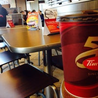 Photo taken at Tim Hortons by ^___^ on 4/1/2014