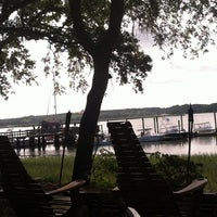 Photo taken at Skull Creek Boathouse by Neil Travis H. on 5/29/2013