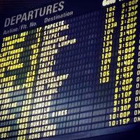 Photo taken at Tom Bradley International Terminal (TBIT) by Jason D. on 12/12/2012