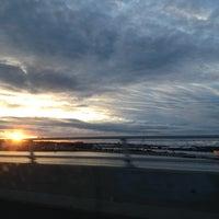 Photo taken at Casco Bay Bridge by Kitty W. on 11/3/2012