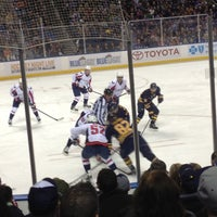 Photo taken at KeyBank Center by j.r on 3/31/2013