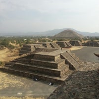 Photo taken at Zona Arqueológica de Teotihuacán by Hugo C. on 3/21/2013