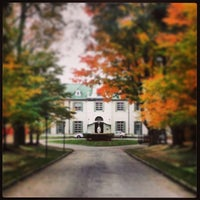 Photo taken at Notre Dame Academy by Megan B. on 10/23/2013