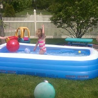 Photo taken at Holderman Family Pool by Andrea B. on 5/24/2014