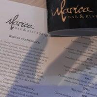 Photo taken at Marica Café-Bar & Restaurant by Balázs K. on 1/3/2013