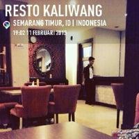 Photo taken at Resto Kaliwang by Septian L. on 2/11/2013