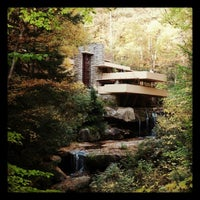 Photo taken at Fallingwater by Bethany L. on 10/14/2012