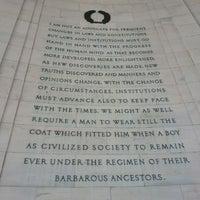 Photo taken at Thomas Jefferson Memorial by K C. on 4/1/2013