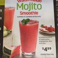Photo taken at Tropical Smoothie Café by Shelbie G. on 7/16/2016