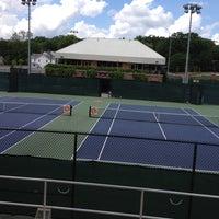 Photo taken at Hoke Sloan Tennis Center by Bill B. on 6/12/2014