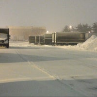 Photo taken at UPS Nassau Hub by bryan p. on 1/27/2015