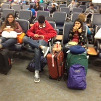 Photo taken at Gate 67B by Gilberto S. on 10/20/2012