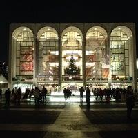 Photo taken at Metropolitan Opera by Brian A. on 12/5/2012