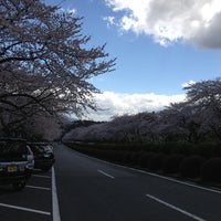Photo taken at 冨士霊園 by あけ on 4/7/2013