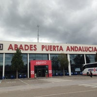 Photo taken at Abades Puerta de Andalucía by Sarita G. on 5/28/2013