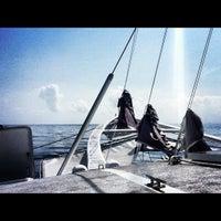 Photo taken at Bali Hai Cruises by Marina on 9/26/2012