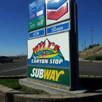 Photo taken at Will's Canyon Stop by Jacob Barlow on 10/18/2012