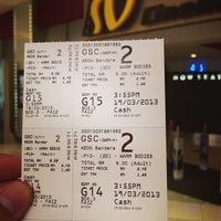Photo taken at Golden Screen Cinemas (GSC) by Terence S. on 3/19/2013