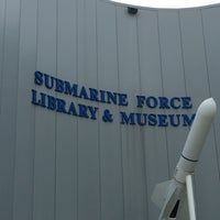 Photo taken at Submarine Force Library & Museum by Jason K. on 9/3/2016