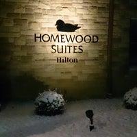 Photo taken at Homewood Suites Cincinnati Airport by Tzo K. on 1/3/2014