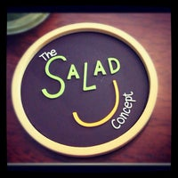Photo taken at The Salad Concept by nukoy m. on 11/16/2012
