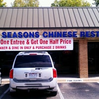 Photo taken at Four Seasons Chinese Restaurant by John S. on 9/17/2012