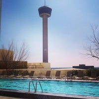 Photo taken at Pool Deck at Grand Hyatt by Jessica H. on 3/6/2014