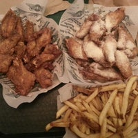 Photo taken at Wingstop by Justin L. on 12/17/2012