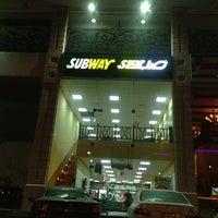 Photo taken at Subway by Ibrahim Abdulwasea on 3/29/2013